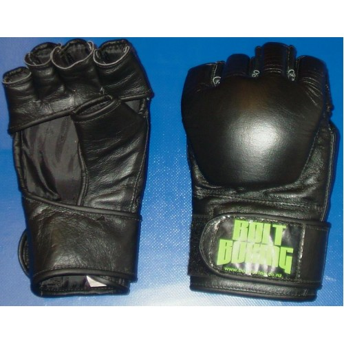 Bolt MMA Leather Gloves