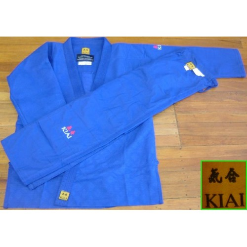 Kiai Blue JUDO UNIFORM Double Weave 750g/m2