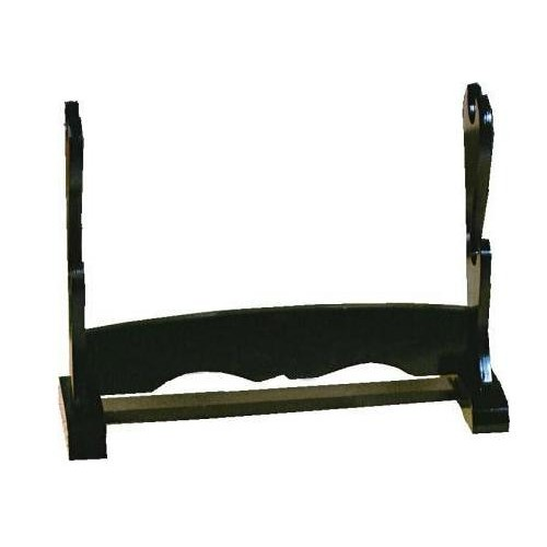 Black Double Sword Stand