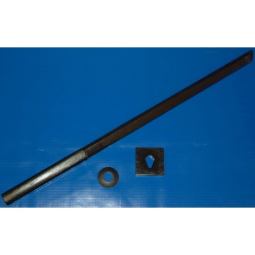 Black Ninja Bokken Red Oak