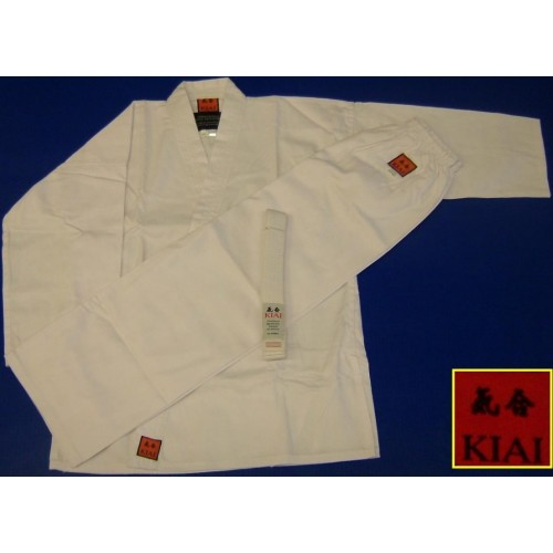 Kiai -karate Gi Poly Cotton White