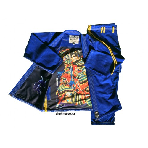 Spider BJJ Gi  -Blue -Adult