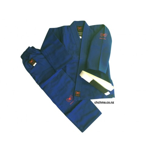 Spider BJJ Gi -Blue -Kids & Teen Sizes
