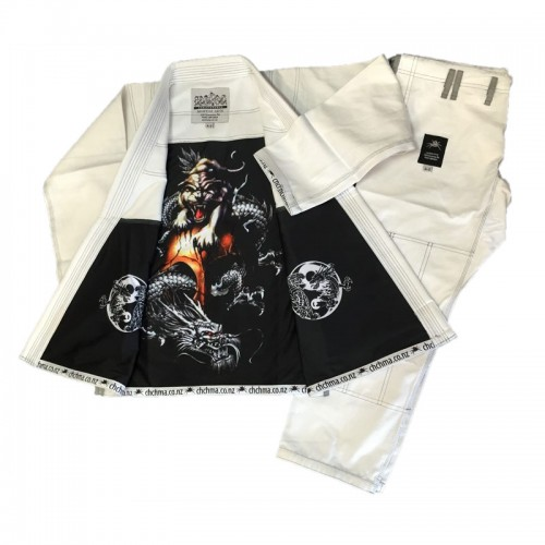 Spider BJJ GI - White - Adults Sizes